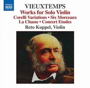 Vieuxtemps: Works for Solo Violin Product Image