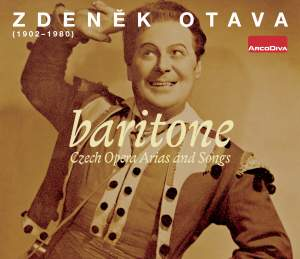 Czech Opera Arias and Songs