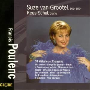 Francis Poulenc - 34 Mélodies et Chansons