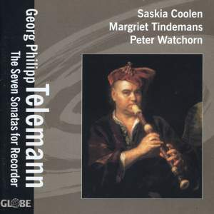 Telemann: Recorder Sonatas Nos. 1-7 Product Image
