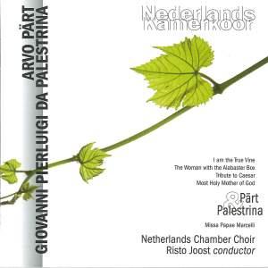 Netherlands Chamber Choir sing Pärt & Palestrina
