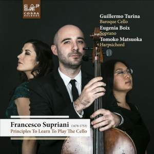 Francesco Supriani: Principles To Learn To Play The Cello
