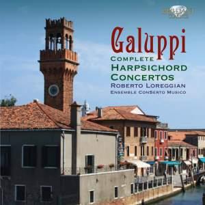 Galuppi: Harpsichord Concertos Nos. 1-8 (complete)