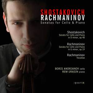 Shostakovich & Rachmaninov - Sonatas for Cello & Piano