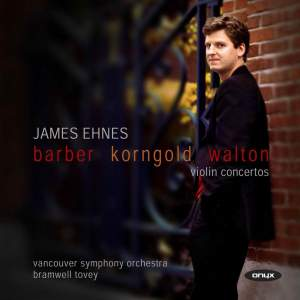 Barber, Walton and Korngold: Violin Concertos