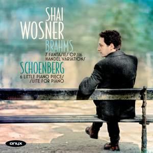 Shai Wosner plays Schoenberg & Brahms