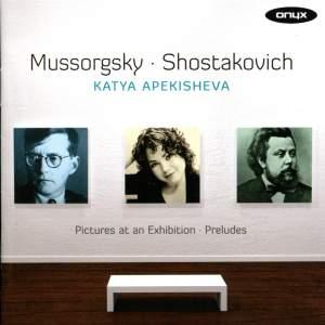 Katya Apekisheva plays Mussorgsky & Shostakovich
