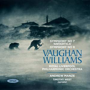 Vaughan Williams: Symphonies Nos. 7 'Sinfonia Antartica' & 9 Product Image