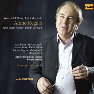 Semperoper Edition Volume 11: Hasse Attilio Regolo