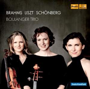 Boulanger Trio play Brahms, Liszt & Schoenberg