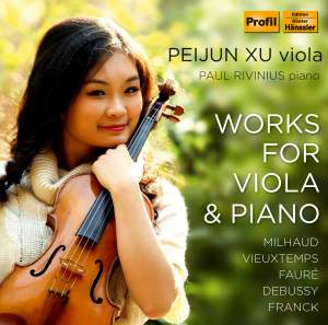 Peijun Xu: Works for viola and piano