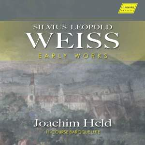 Silvius Leopold Weiss: Early Works