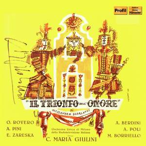 Scarlatti, A: Il trionfo dell'onore