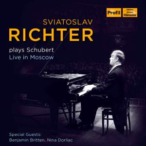 Sviatoslav Richter plays Schubert 1949-1963