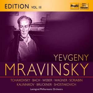 Yevgeny Mravinsky Edition Volume 3