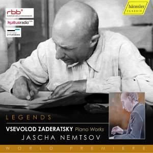 Zaderatsky: Piano Works