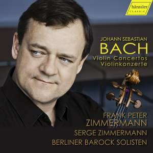 J S Bach: Violin Concertos Product Image
