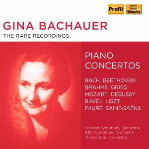 Gina Bachauer: The Rare Recordings