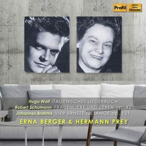 Erna Berger & Hermann Prey: Lieder Duets
