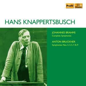 Hans Knappertsbusch conducts Brahms & Bruckner