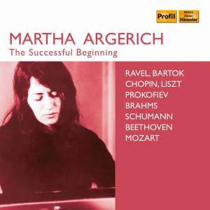 Martha Argerich: The Successful Beginning