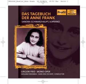 Frid, Grigory: Das Tagebuch der Anne Frank