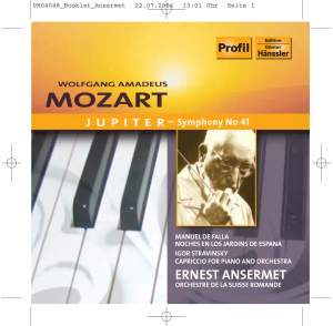 Ansermet conducts Falla, Mozart & Stravinsky