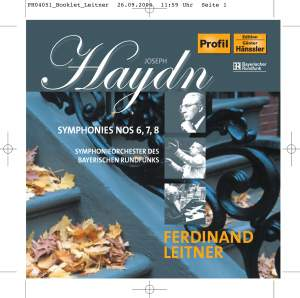 Haydn: Symphonies Nos. 6, 7 and 8