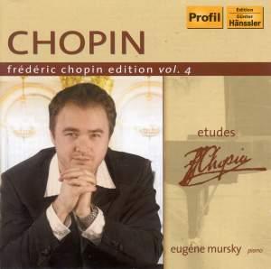 Frédéric Chopin Edition Volume 4 - Etudes