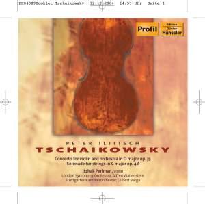 Tchaikovsky: Violin Concerto & Serenade for Strings