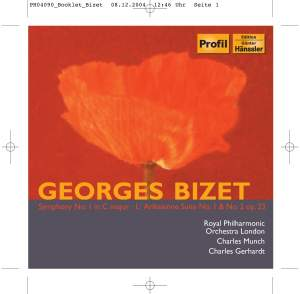 Bizet: Symphony in C and Incidental Music for L'Arlesienne
