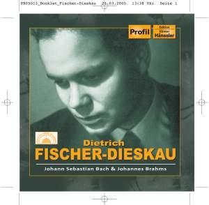 Fischer-Dieskau sings Bach and Brahms