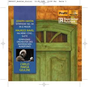 Giulini conducts Haydn and Ravel