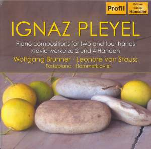 Pleyel: Piano compositions for two and four hands