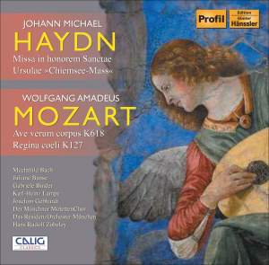 Hans Rudolf Zöbeley conducts M. Haydn & Mozart