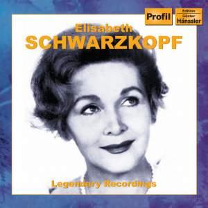 Legendary Recordings: A Portrait (Elisabeth Schwarzkopf)