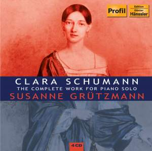 Schumann, Clara: The Complete Works for Piano Solo