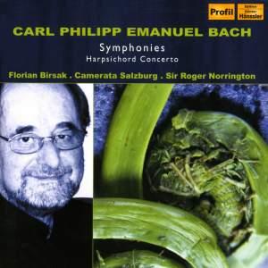C. P. E. Bach - Symphonies & Harpsichord Concertos