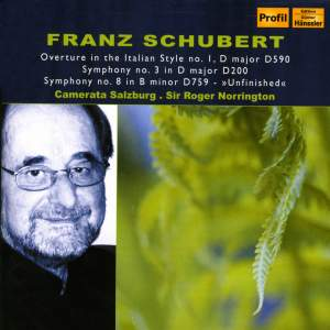 Schubert - Symphonies Nos. 3 & 8