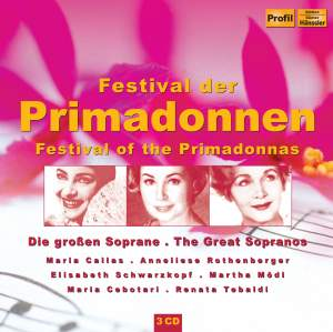 Festival of the Primadonnas - The Great Sopranos