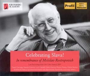 Celebrating Slava! In remembrance of Mstislav Rostropovich