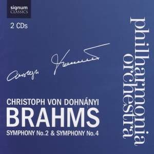 Brahms - Symphonies Nos. 2 & 4 Product Image