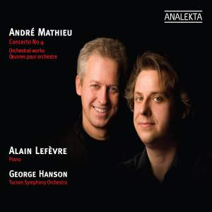 Mathieu - Piano Concerto & Orchestral Works Product Image