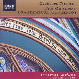 Giuseppe Torelli: The Original Brandenburg Concertos