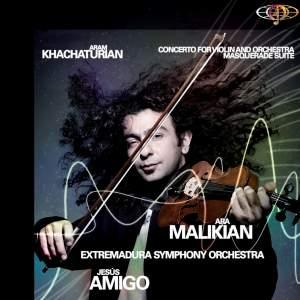 Aram Khachaturian. Violin Concerto. Masquerade Suite