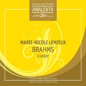 Brahms: Lieder Product Image