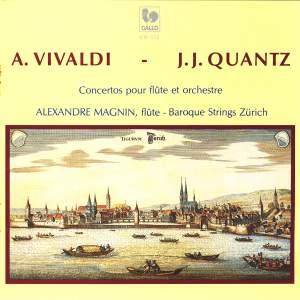 Antonio Vivaldi - J.J. Quantz, Concertos for Flute & Orchestra