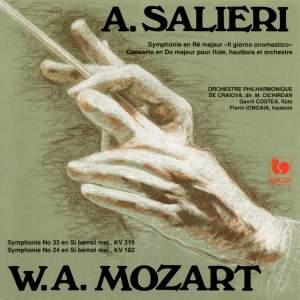 Antonio Salieri: Symphonie en Ré, Concerto pour flûte et hautbois – W,A. Mozart: Symphonies KV 319 et 182
