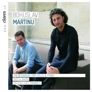 Martinů: Sonatas for Cello & Piano Nos. 1-3 Product Image