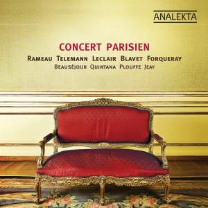 Concert Parisien – the era of Louis XV